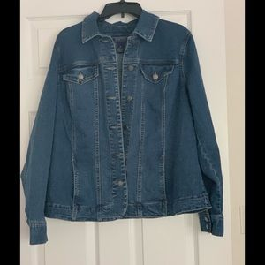 Charter Club Denim Jacket Size 1X (see pic of tag)